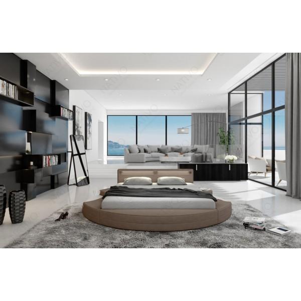 Slaapbank ATLANTIS MINI met LED verlichting NATIVO design meubelen Nederland