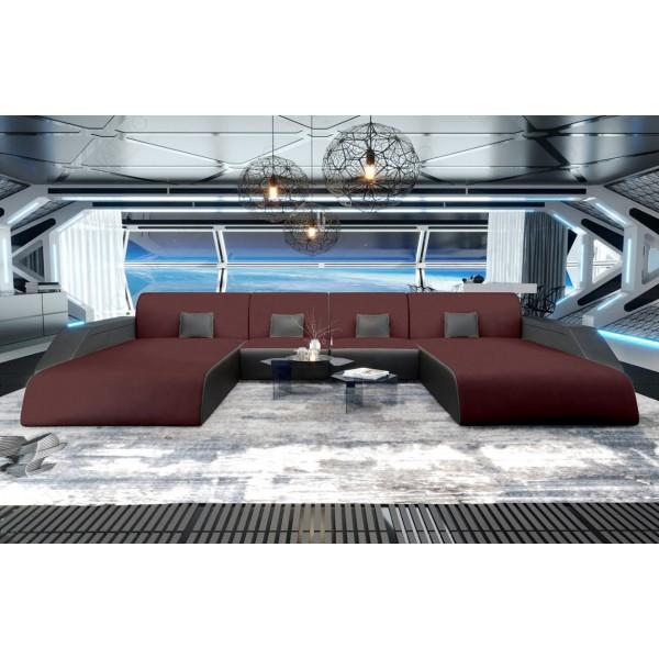 Slaapbank MIRAGE XXL met LED verlichting NATIVO design meubelen Nederland