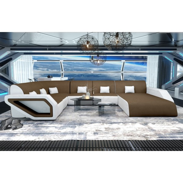 Slaapbank MIRAGE XL met LED verlichting NATIVO design meubelen Nederland