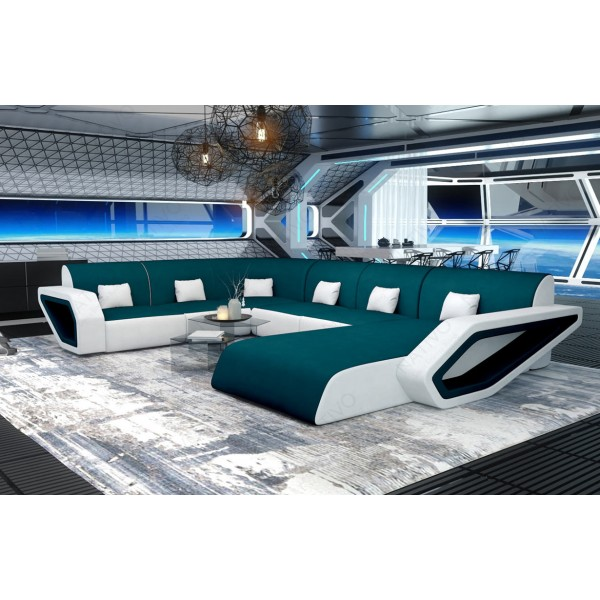 Slaapbank MESIA XL met LED verlichting NATIVO design meubelen Nederland