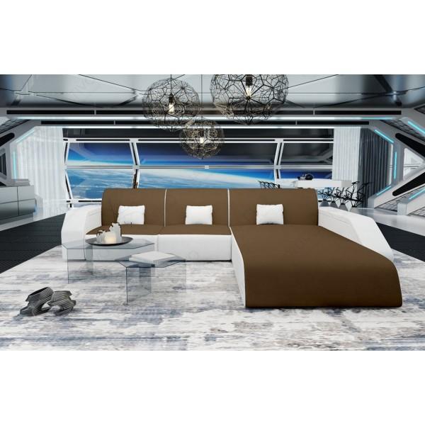 Slaapbank MESIA XXL met LED verlichting NATIVO design meubelen Nederland
