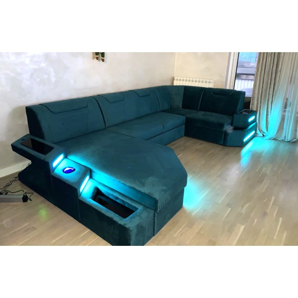 Slaapbank ANGEL CORNER NATIVO design meubelen Nederland