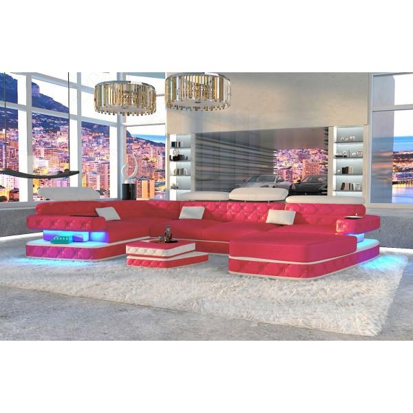 Design bank MATIS XL met LED verlichting NATIVO design meubelen Nederland