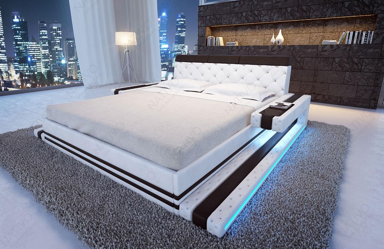 Gestoffeerd bed IMPERIAL met LED verlichting