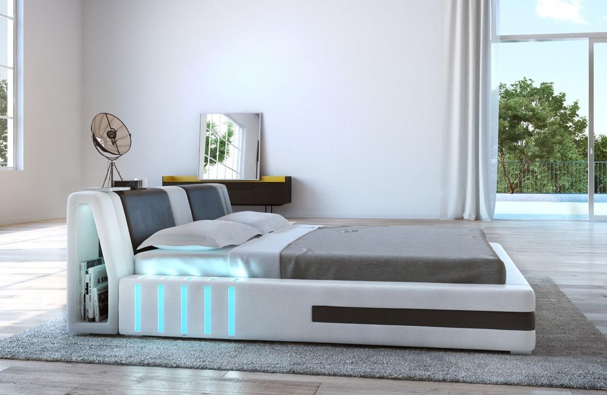 Gestoffeerd bed VENUM met LED verlichting