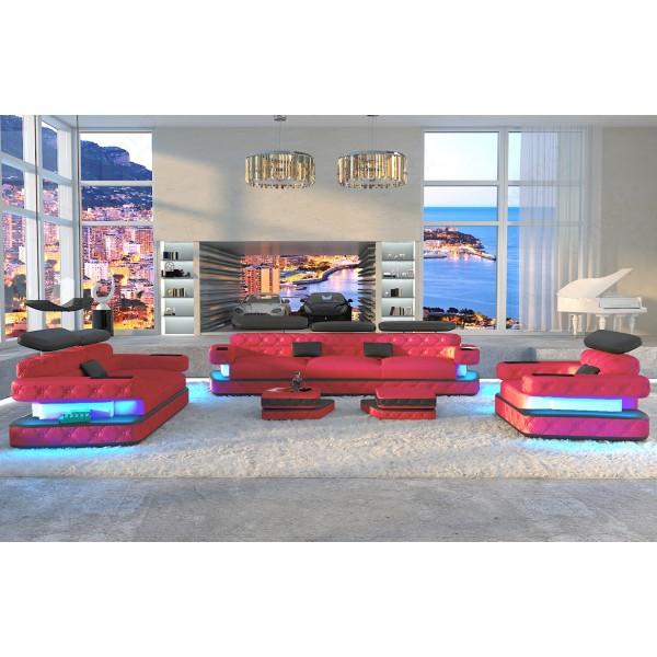Design bank CESARO XL met LED verlichting NATIVO design meubelen Nederland