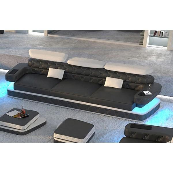 Design bank CESARO MINI met LED verlichting