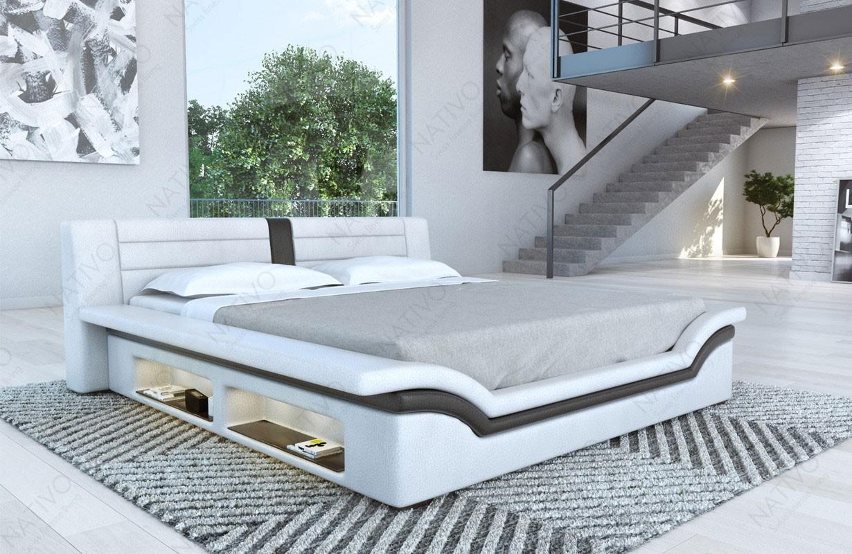 Gestoffeerd bed EVERLAST met LED verlichting
