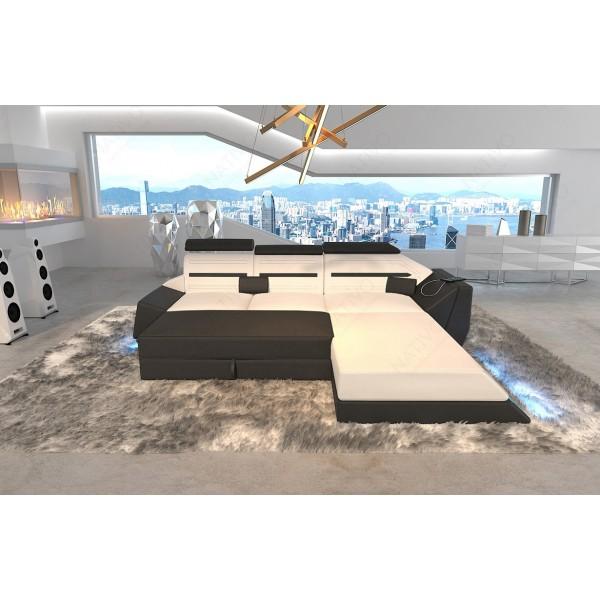 Design bank ATLANTIS XXL met LED verlichting NATIVO design meubelen Nederland
