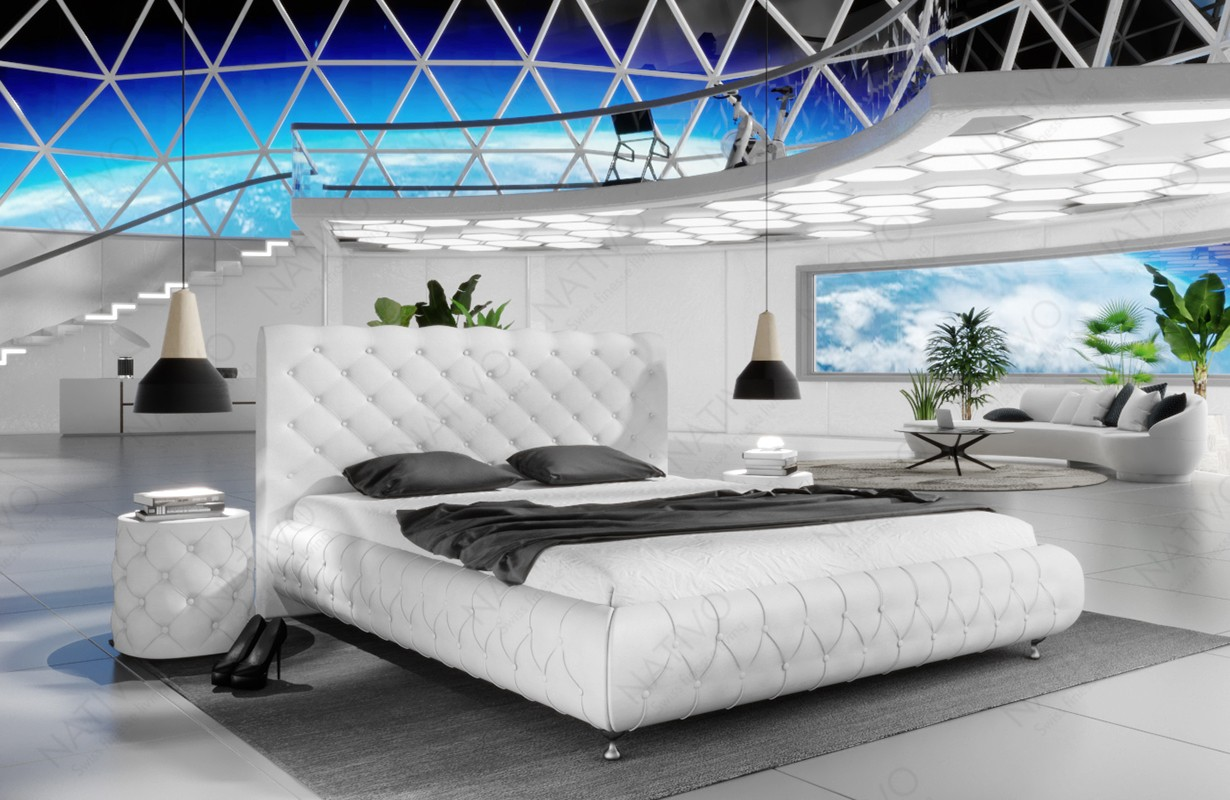 Gestoffeerd bed FLORA
