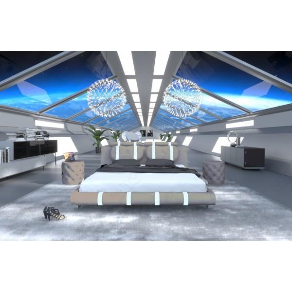 Design bank CAREZZA 3+2+1 met LED verlichting NATIVO design meubelen Nederland