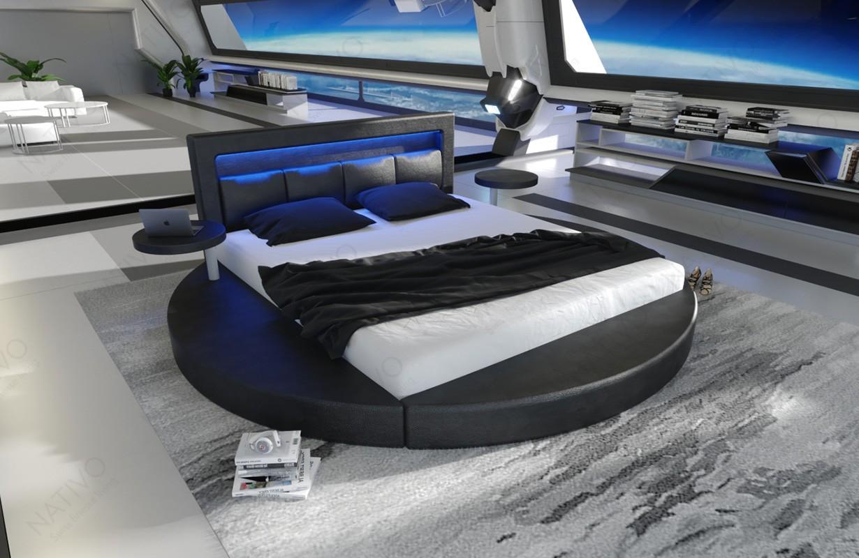 Gestoffeerd bed COCO met LED verlichting