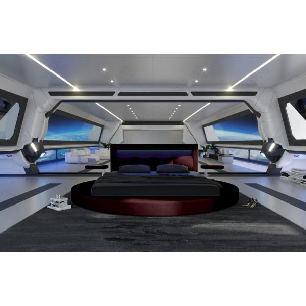 Design bank MIRAGE 3+2+1 met LED verlichting NATIVO design meubelen Nederland