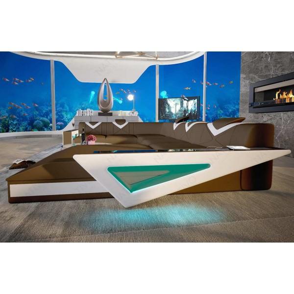 Design bank MESIA MINI met LED verlichting NATIVO design meubelen Nederland