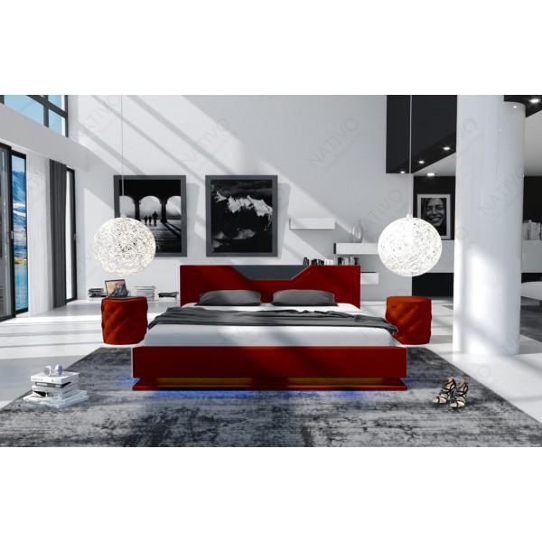 Design bank MESIA XXL met LED verlichting NATIVO design meubelen Nederland