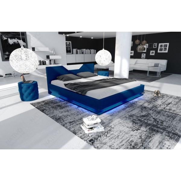 Design bank EDEN met tafel en 2 poefen NATIVO design meubelen Nederland