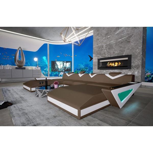 Design bank DAVOS 3+2+1 NATIVO design meubelen Nederland