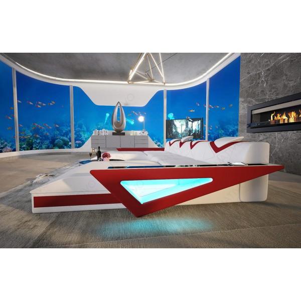 Design bank ANGEL met geïntegreerde opbergruimte NATIVO design meubelen Nederland