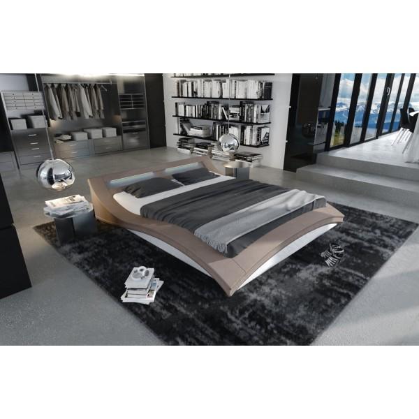 Design bank ATLAS met poef NATIVO design meubelen Nederland