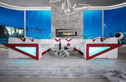 Fauteuil CHESTERFIELD wit NATIVO design meubelen Nederland
