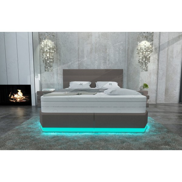Design bed IMPERIAL met LED verlichting