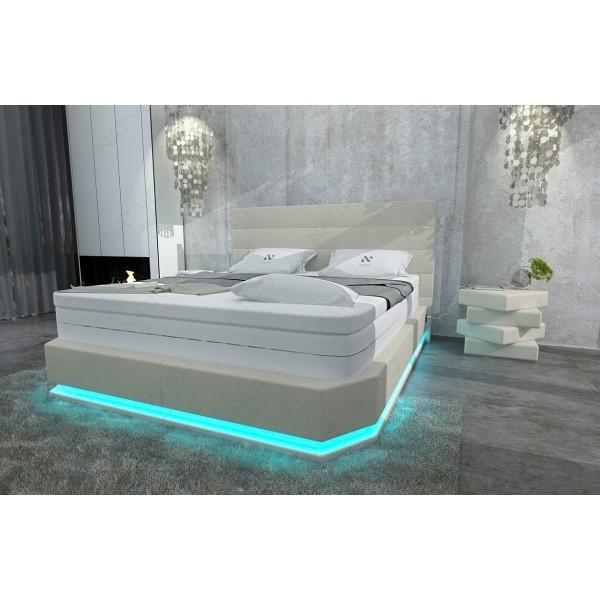 Design bed IMPERIAL met LED verlichting NATIVO design meubelen Nederland