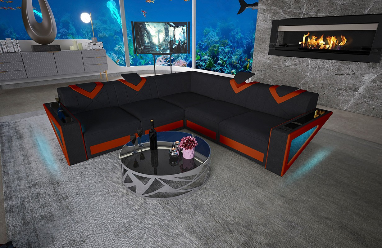 Design bed EVERLAST met LED verlichting NATIVO meubelen