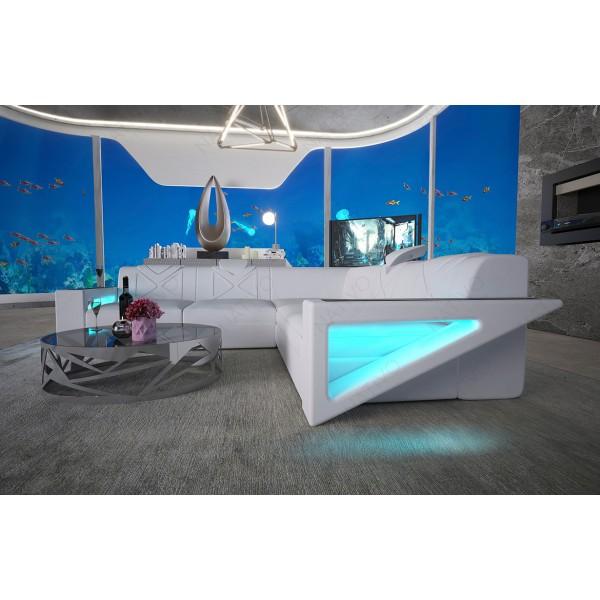 Design bed TYSON met LED verlichting NATIVO design meubelen Nederland