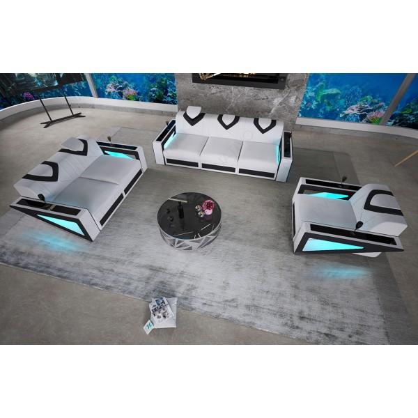 Design bed MOON v2 met LED verlichting NATIVO design meubelen Nederland