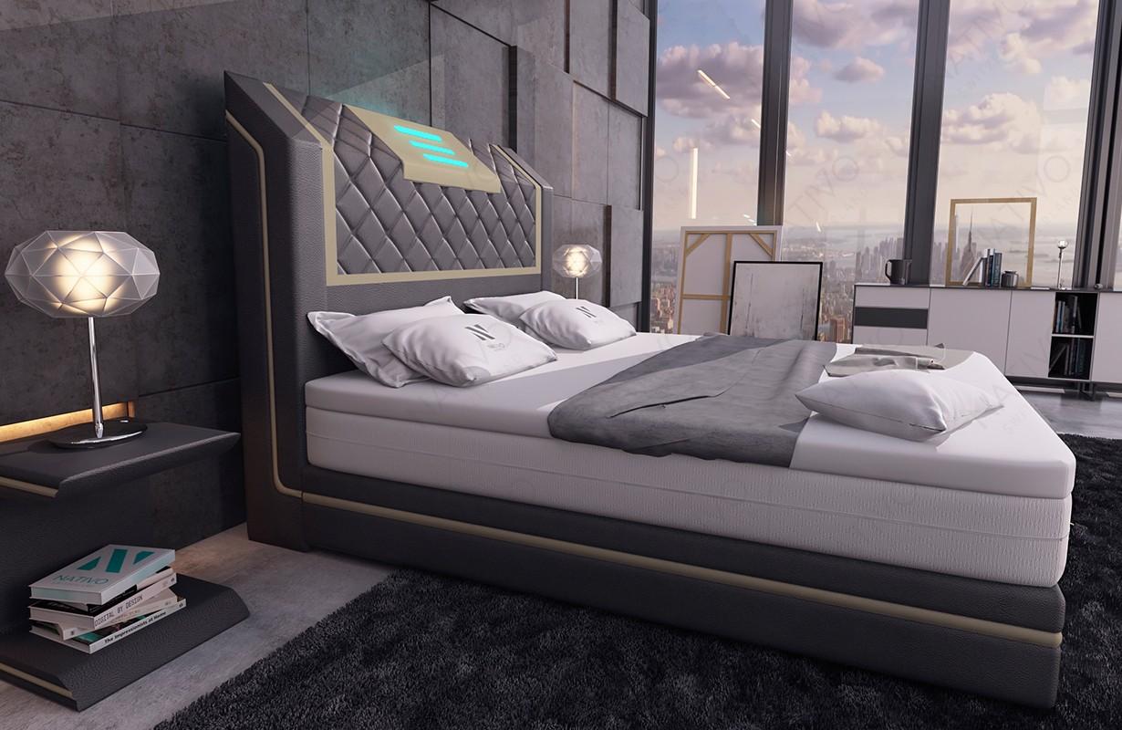 Design bed LUISA v2 NATIVO design meubelen Nederland
