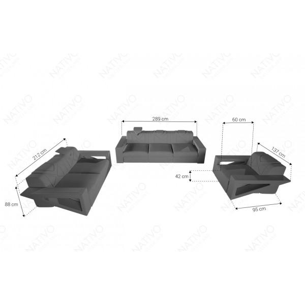 Design nachtkastje WIEN NATIVO design meubelen Nederland