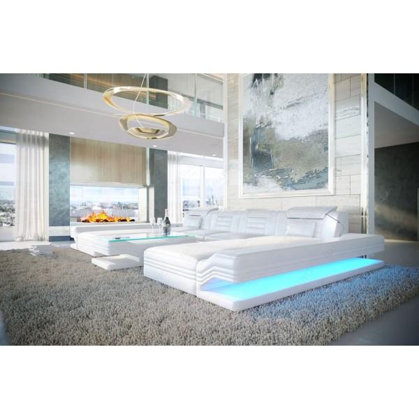Design bank HERMES MINI met LED verlichting NATIVO design meubelen Nederland