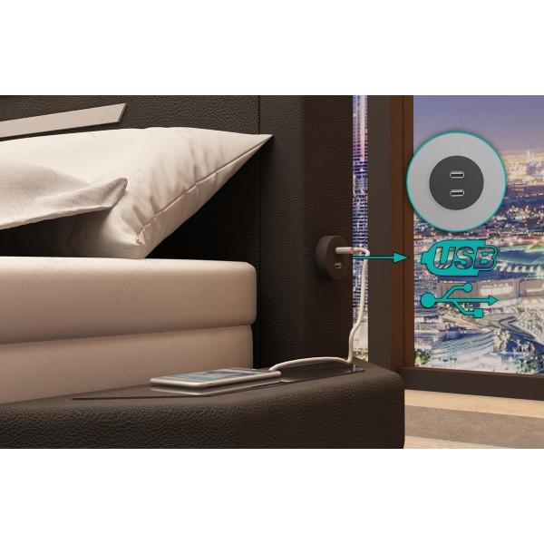 Matras ALTEZA met 7 comfortzones NATIVO design meubelen Nederland