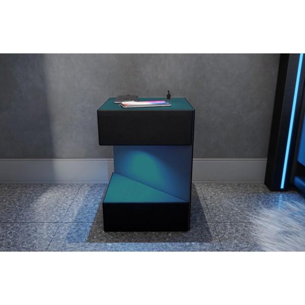 Design bank ROYAL 3+2+1 met LED verlichting en USB-poort NATIVO design meubelen Nederland