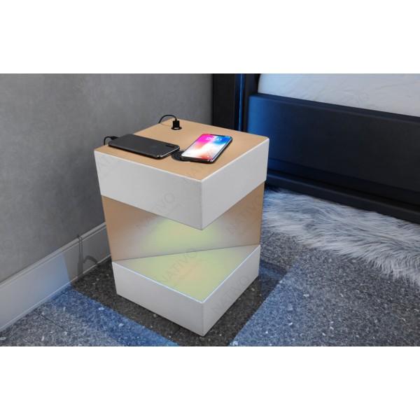 Design bank CLERMONT XXL met LED verlichting NATIVO design meubelen Nederland