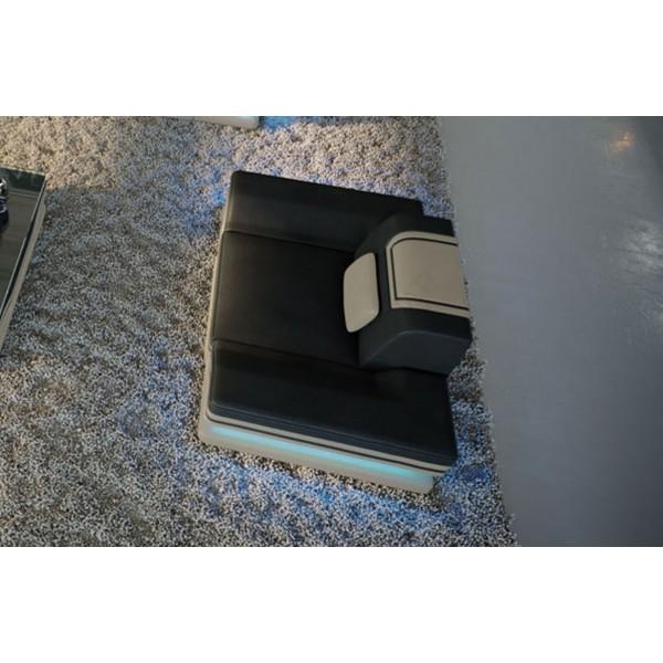 Woonkamermeubel MATIS XL U-vorm met LED NATIVO design