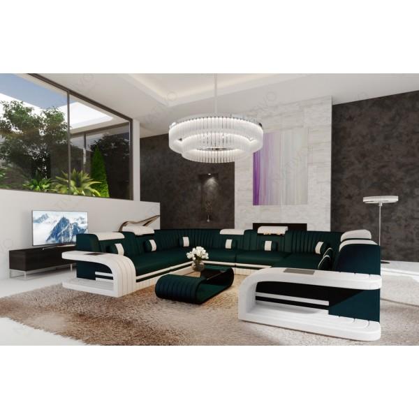 Compleet bed IMPERIAL met LED verlichting NATIVO design meubelen Nederland