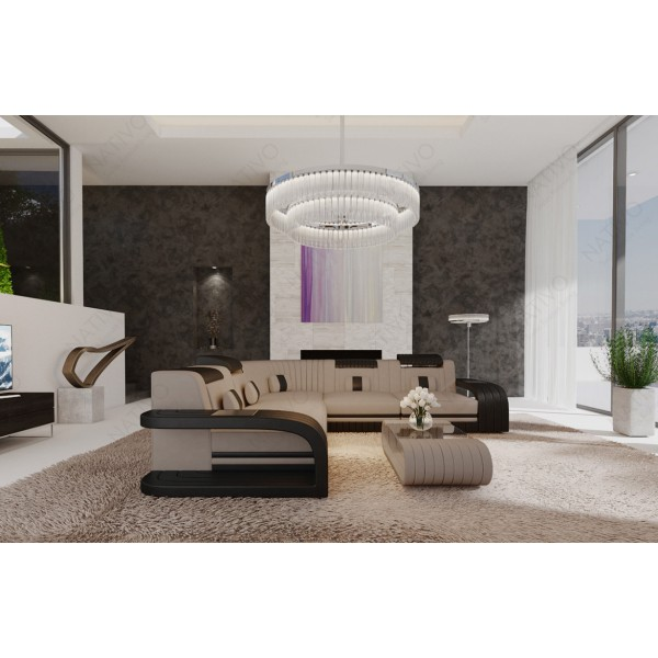 Compleet bed LENOX met LED verlichting NATIVO design meubelen Nederland
