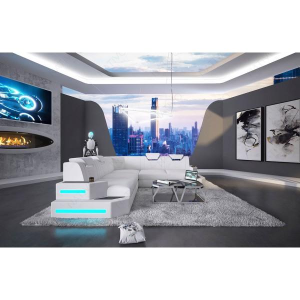 Design bank CLERMONT MINI met LED verlichting NATIVO design meubelen Nederland