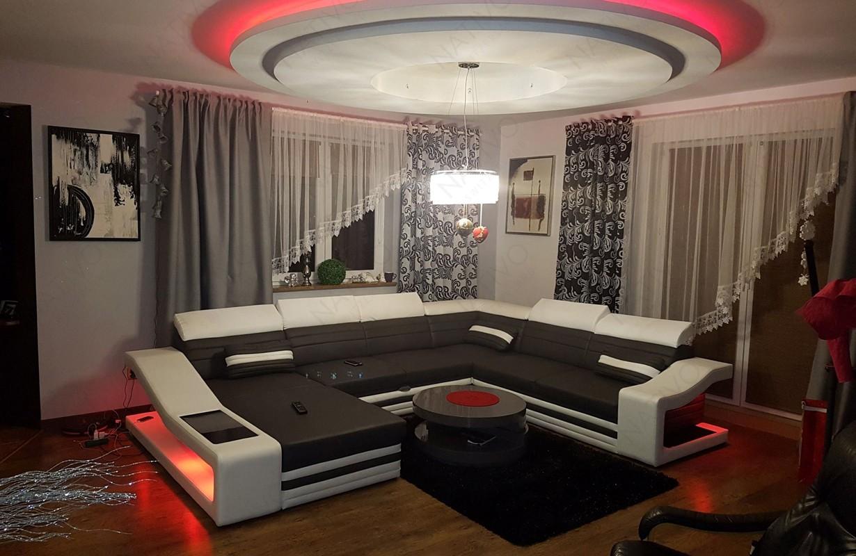 Design bank met LED verlichting