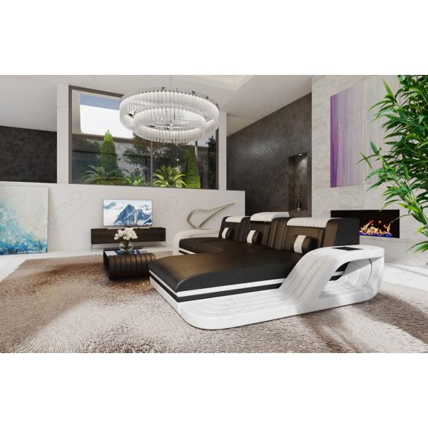 Compleet bed EVERLAST met LED verlichting NATIVO design meubelen Nederland
