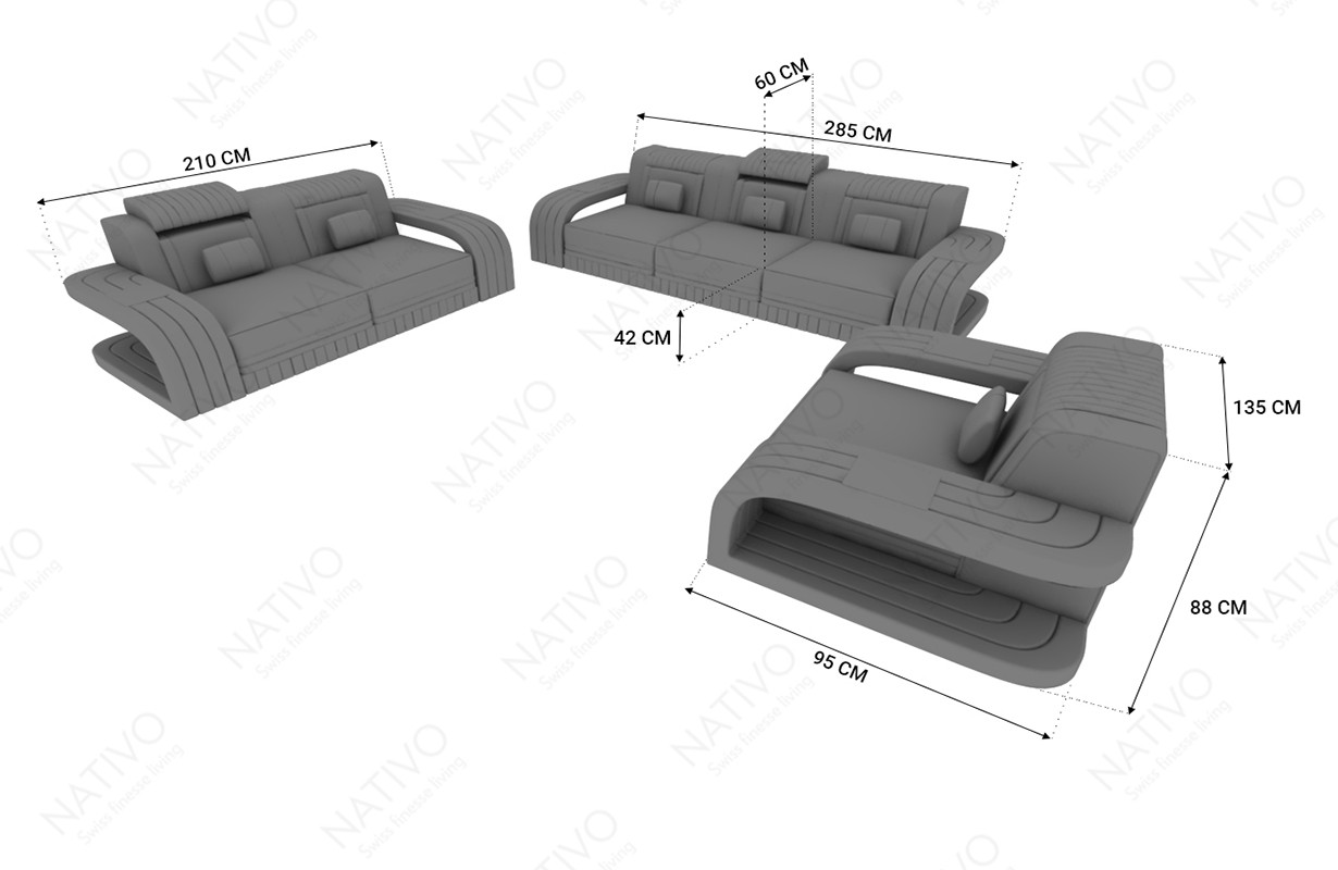 Compleet bed RAY NATIVO design meubelen Nederland